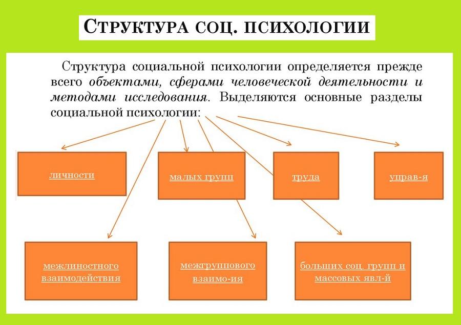 Структура СП