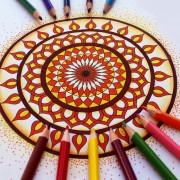 Разукрашивание магического круга